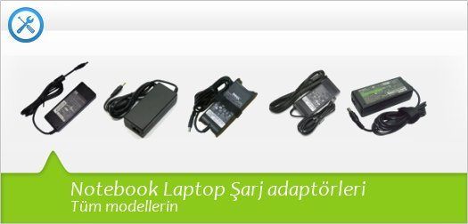 Notebook Laptop Şarj aleti